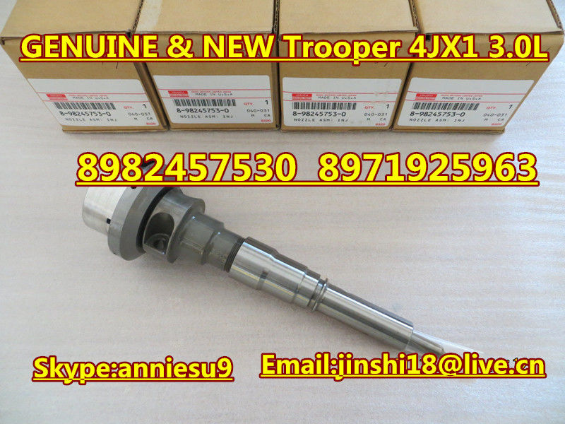 isuzu trooper 4jx1 3.0l fuel injector 8982457530 8971925963