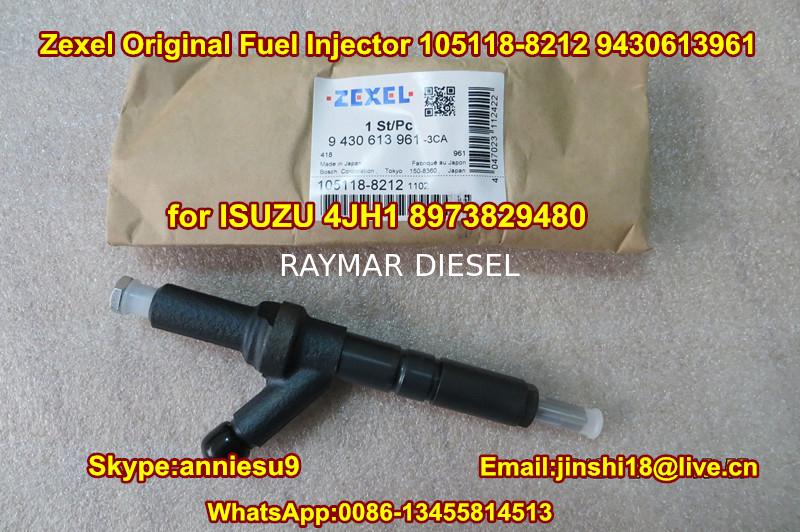 ZEXEL Fuel Injector 105118-8212 9430613961 for ISUZU 4JH1 8973829480