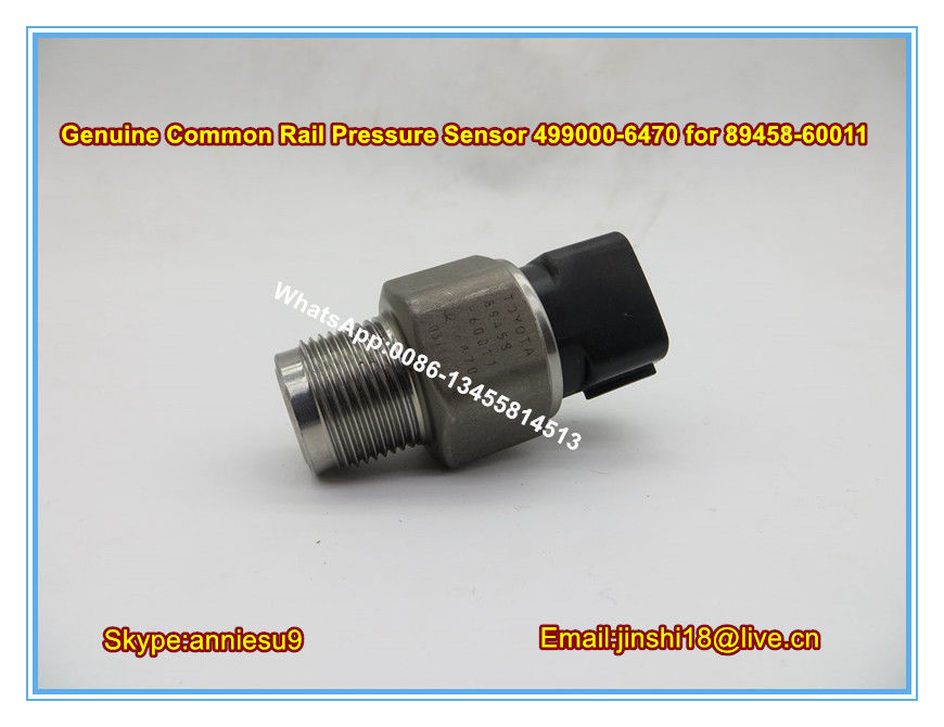 Denso Genuine Common Rail Pressure Sensor 499000-6470 for TOYOTA 89458-60011