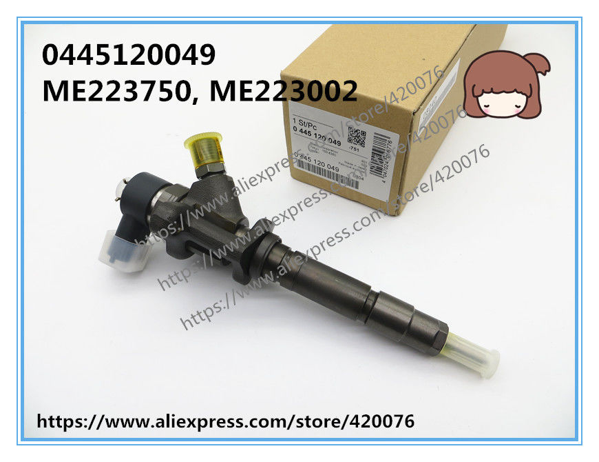 GENUINE AND BRAND NEW  fuel injector 0445120049 for Canter 4M50 4.9 ME223750, ME223002