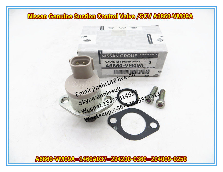 Nissan Genuine Overhaul Kit , Suction Control Valve, SCV A6860-VM09A/MITSUBISHI 1460A037/ Denso 294200-0360 294009-0250