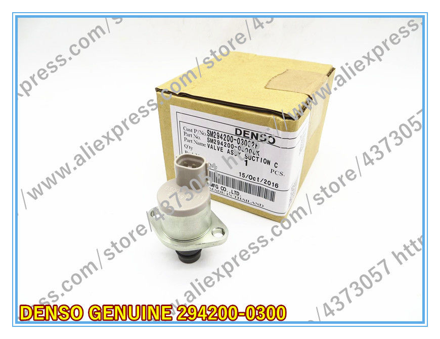 DENSO GENUINE SUCTION CONTROL VALVE 294200-0300 FOR TOYOTA 1AD-FTV, 2AD-FTV, 1KD-FTV, 2KD-FTV ENGINE