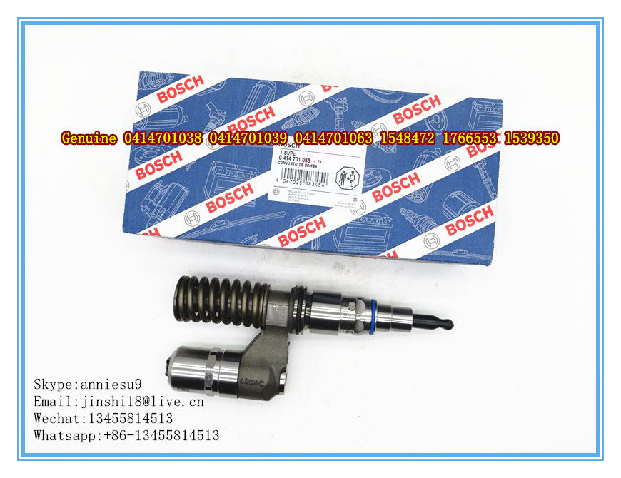 Bosch Genuine Unti Fuel Injector 0414701038 0414701039 0414701063 for SCANIA R500 1548472 1766553 1539350