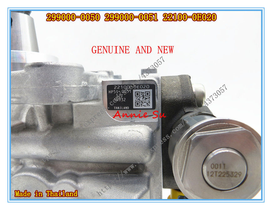 Denso Genuine HP5S Common Rail Pump 299000-0050 299000-0051 for Toyota 2GD-FTV 2.4L 22100-0E020