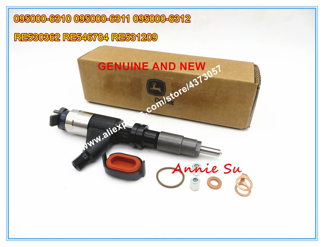 Denso Genuine and New Common Rail Injector 095000-6310 095000-6311 095000-6312 for John Deere 4045 RE530362 RE546784