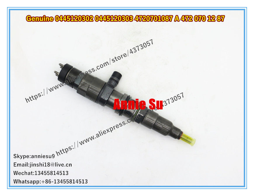 Bosch Genuine and New Fuel Injector 0445120302 0445120303 4720701087 4720701187 A 472 070 12 87