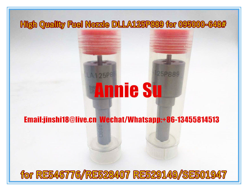 Liwei Brand High Quality Fuel Nozzle DLLA125P889 for 095000-648# 095000-6480 RE546776/RE528407 RE529149/SE501947