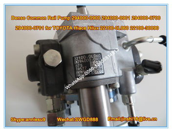 China Denso Original Common Rail Pump 294000-0900 294000-0901 294000-0700 294000-0701 for TOYOTA factory