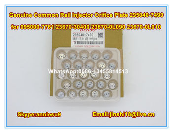 Denso Common Rail Injector Orifice Plate 295040-7490 for 095000-7761 23670-30400 23670-0L090 23670-0L010
