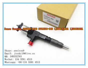 Denso Genuine Common Rail Injector 095000-9690 9709500-969 for KUBOTA V3800 1J500-53051, 1J50053051