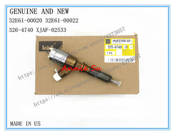 Caterpillar Genuine Fuel Injector 32E61-00020 32E61-00022 for Caterpillar 315D 326-4740, HYUNDAI XJAF-02533