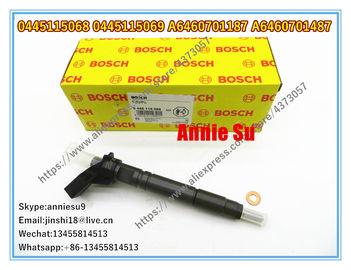Bosch Genuine Piezo Injector 0445115068 0445115069 0445115032 0445115033 for Mercedes Benz A6460701187 A6460701487
