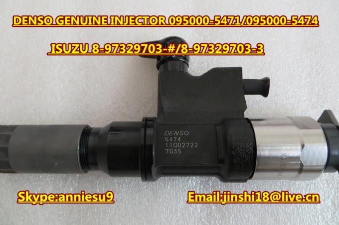 Denso Common Rail Injector 095000-5471 095000-5473 095000-5474 for ISUZU 4HK1 8975297032