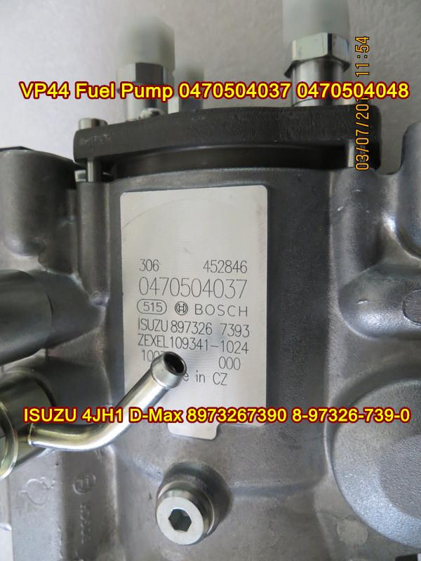 Vp44 Injection Pump For Sale >> Bosch VP44 Fuel Pump 0470504037 0470504048 for ISUZU 4JH1 ...