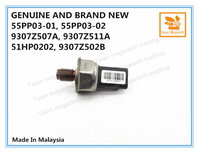 GENUINE AND BRAND NEW DIESEL FUEL RAIL PRESSURE SENSOR 55PP03-01, 55PP03-02, 9307Z511A, 28389848, 51HP0202, 9307Z507A
