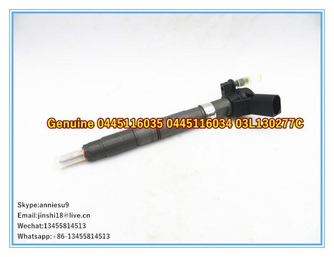 Bosch Genuine Piezo Fuel Injector 0445116035 0445116034 for VW 03L130277C