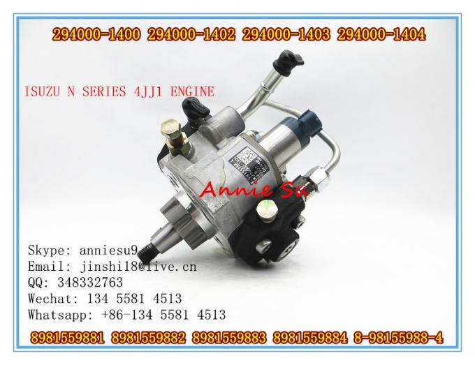 Denso Genuine Fuel Pump 294000-1400, 294000-1402, 294000-1403, 294000-1404 for ISUZU FUEL PUMP 8981559881, 8981559882, 8