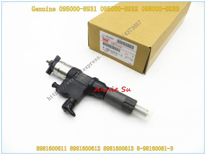 Denso Common Rail Fuel Injector 095000-8931, 095000-8932, 095000-8933 for ISUZU 4HK1 8981600612, 8981600613, 8-98160061