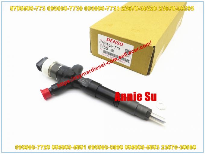 Denso Genuine Common Rail Fuel Injector 095000-7730 095000-7731 095000-7720 095000-5890 for TOYOTA Land Cruiser 23670-30