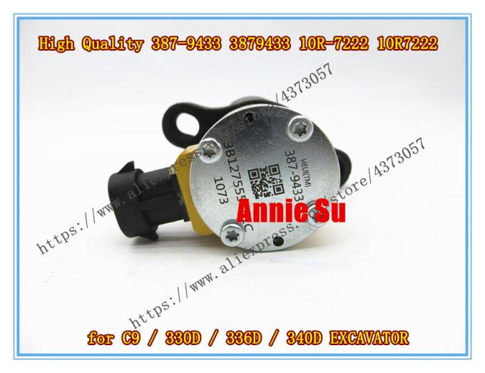 Caterpillar Copy High Quality Fuel Injector 387-9433, 3879433, 10R7222, 10R-7222 for CAT C9, 330D, 336D, 340D Excavator