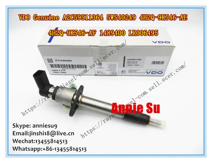 VDO Genuine Fuel Injector A2C59511364, 5WS40249 for FORD 4H2Q-9K546-AE, 4H2Q-9K546-AF, 1489400, LAND ROVER LR006495