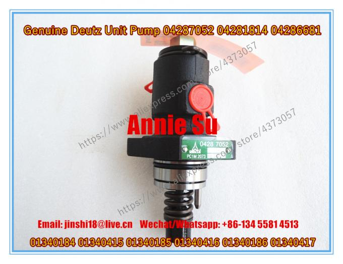 Deutz Genuine Unit Pump 04287052 / 04281814 / 04286681 / 01340184 01340415 /  01340185 / 01340416 / 01340186 01340417