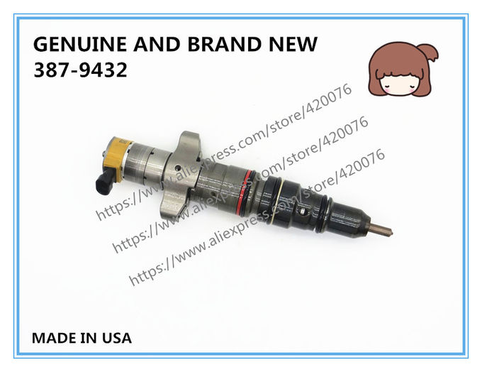 GENUINE AND BRAND NEW CATERPILLAR DIESEL C9 FUEL INJECTOR HEUI 387-9432, 328-2576, 10R7223, 10R-7223 FOR 330D, 340D