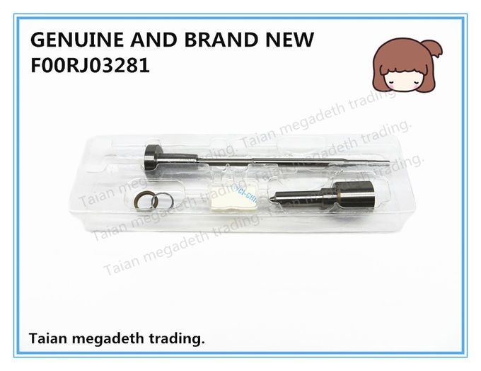 GENUINE AND BRAND NEW COMMON RAIL FUEL INJECTOR OVERHAUL KIT F00RJ03281 FOR 0445120078, 0445120393