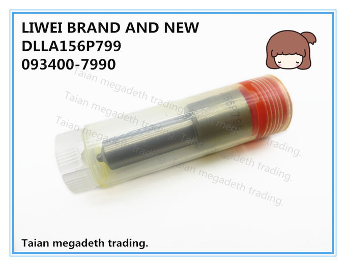LIWEI BRAND AND NEW FUEL INJECTOR NOZZLE DLLA156P799, 093400-7990 FOR INJECTOR 095000-5000, 8-97306071-0